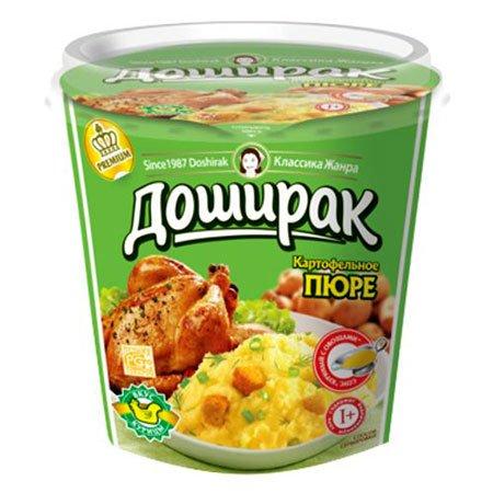 Доширак картофельное пюре премиум курица