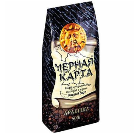 Кофе-Чёрная-Карта-Купола-зёрна-500гр
