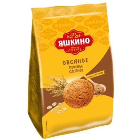Печенье Яшкино Овсяночка сдобное