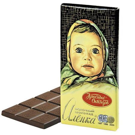 шоколад-алёнка-классический