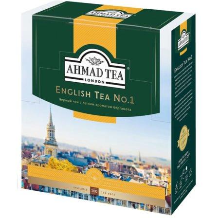 Чай-Ахмад-Английский-№1-100-пак