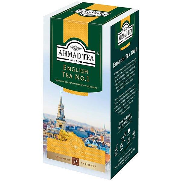 Чай-Ахмад-Английский-№1-25-пак