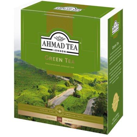 Чай-Ахмад-Зеленый-100-пак