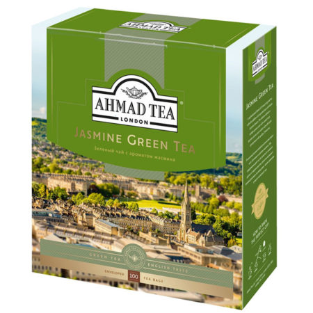 Чай-Ахмад-Зеленый-с-Жасмином-100-пак