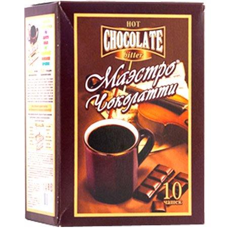 Горячий шоколад Маэстро горький