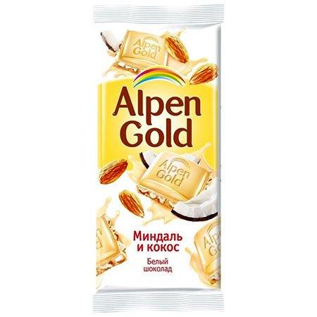 Шоколад-Альпен-Голд-Белый-Миндаль,-кокос
