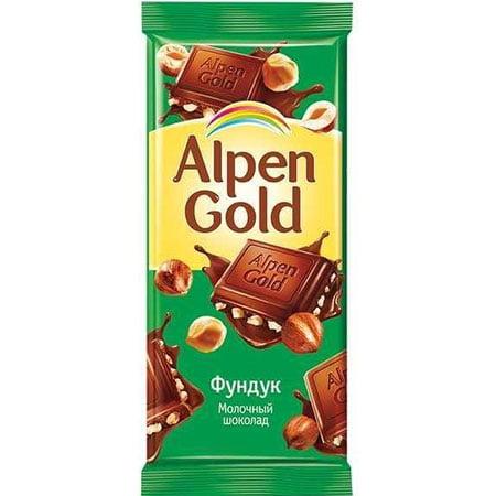 Шоколад-Альпен-Голд-Фундук