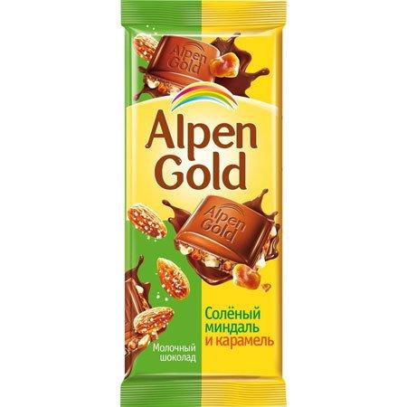 Шоколад-Альпен-Голд-Миндаль-и-карамель