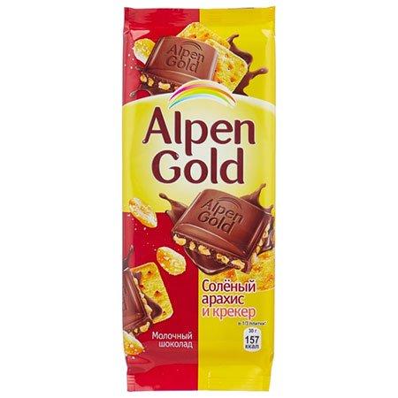 Шоколад-Альпен-Голд-Соленый-арахис-и-крекер