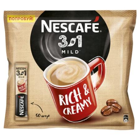 Кофе Нескафе Мягкий 3 в 1