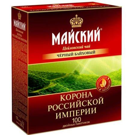 Чай-Майский-Корона-Российской-Империи-100-пакетов
