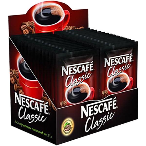 Кофе Нескафе Классик 30 пак.