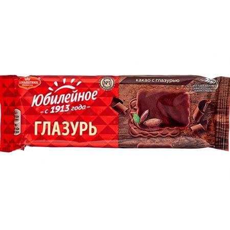 Печенье-Юбилейное-какао-глазурь
