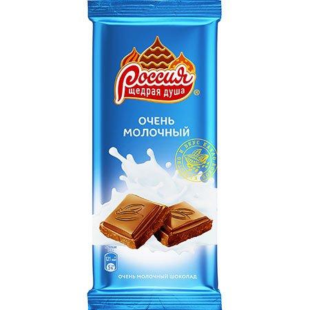 Шоколад Россия Молочный