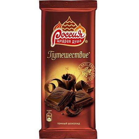Шоколад Россия Путешествие тёмный