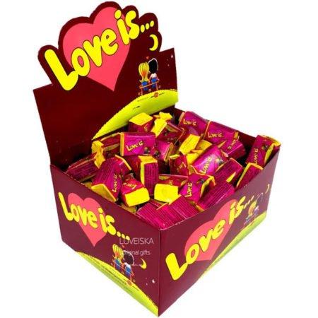 Жевательная резинка Love Is (Лов Из) Вишня Лимон