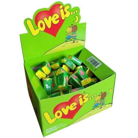 Жевательная-резинка-Love-Is-яблоко-Лимон