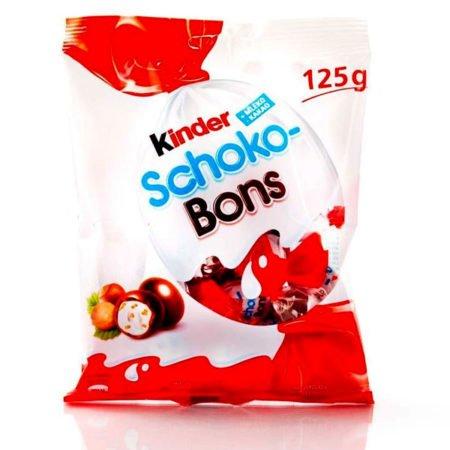 Конфеты Киндер ШокоБонс из молочного шоколада
