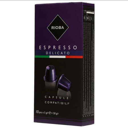 Кофе в капсулах Espresso Delicato 10шт*5гр