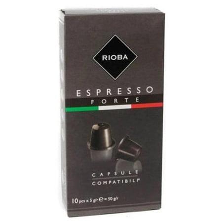 Кофе в капсулах Espresso Forte 10шт*5гр
