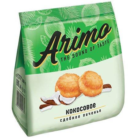 Печенье сдобное Аримо (Arimo) с кокосовой стружкой 250гр.