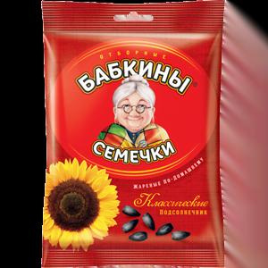 """Семечки """"Бабкины семечки"""" жареные 100 гр."""