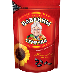 """Семечки """"Бабкины семечки"""" жареные 500 гр."""