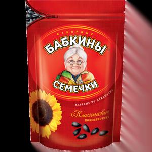 """Семечки """"Бабкины семечки"""" жареные 300 гр."""