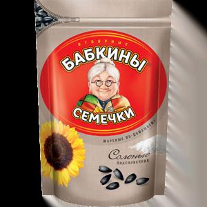 """Семечки """"Бабкины семечки"""" жареные соленые 300 гр."""