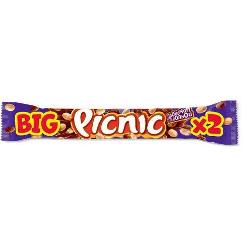 Шоколадный батончик Пикник Биг 76гр.