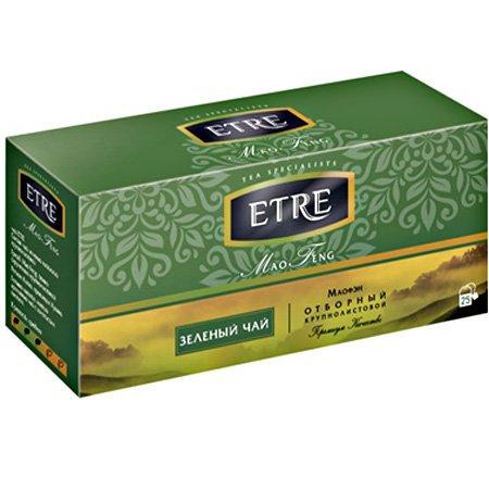 Чай Этре (Etre) «Mao Feng» зеленый 25 пак.