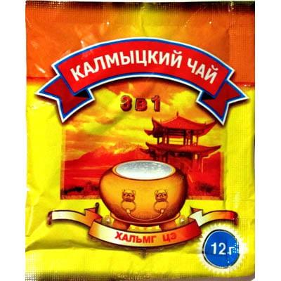 Чай Калмыцкий 3 в 1, 12г.х30 пакетиков