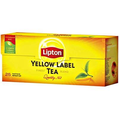 Чай Липтон Yellow Label 25 пакетиков