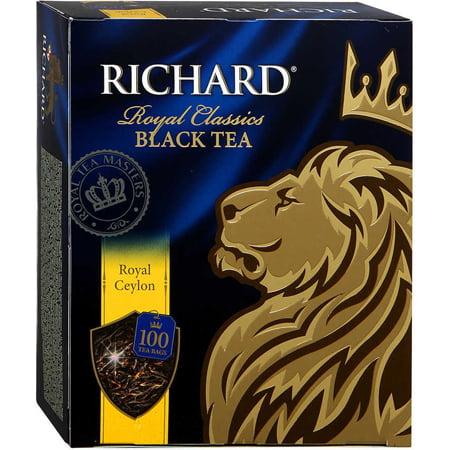 Чай Ричард Роял цейлон 100 пакетиков