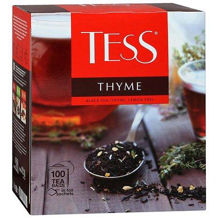 Чай Тесс (Tess) Чабрец/Лимон 100 пакетиков