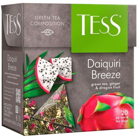 Чай Тесс (Tess) Дайкири Бриз зелёный 20 пирамидок
