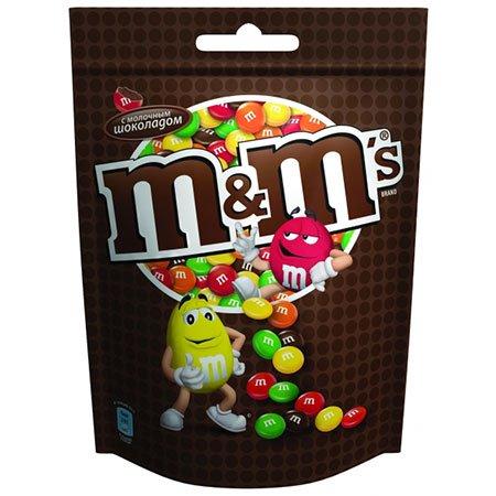 Драже М&Мs (Эм-энд-Эмс) шоколад 130гр.