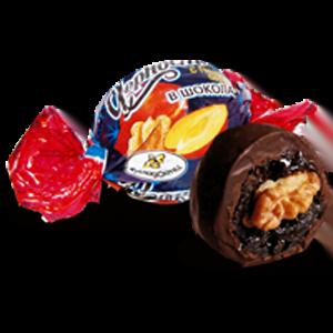 Конфеты Вкусладости Чернослив с грецким орехом, 1кг