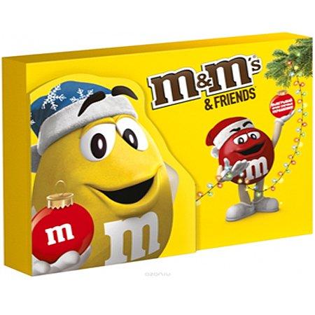 Подарочный набор М&Мs (Эм-энд-Эмс) Friends Посылка Бандероль 675 гр.