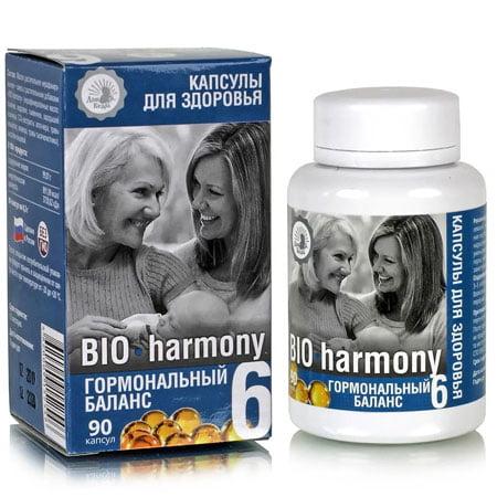 Капсулы здоровья №06 BIO harmony гормональный баланс, 90 капсул
