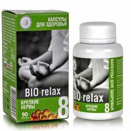 Капсулы здоровья №08 BIO relax крепкие нервы, 90 капсул