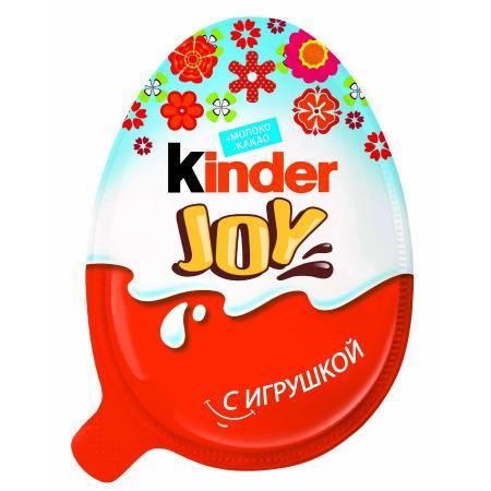Киндер сюрприз Яйцо шоколадное Джой Весна 20г Т-24