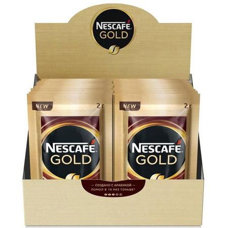 Кофе Нескафе Голд 30 пак.