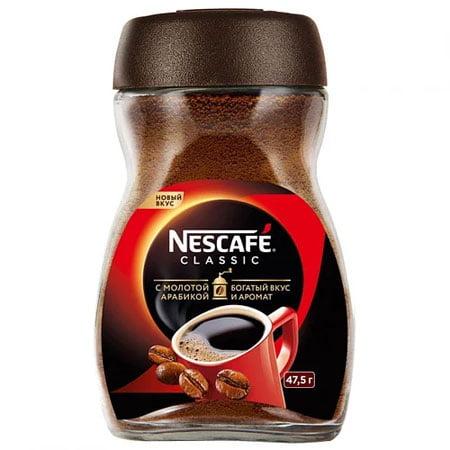 Кофе Нескафе Классик 47,5г. с/б