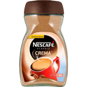 Кофе Нескафе Классик Крема 95г. с/б
