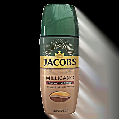 Кофе Якобс Милликано Крема 95гр. с/б