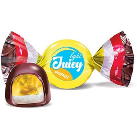 Конфета Juicy light ананас (упаковка 0,5 кг)