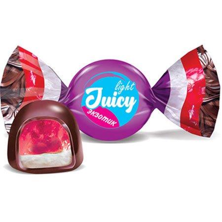 Конфета Juicy light экзотик (упаковка 0,5 кг)