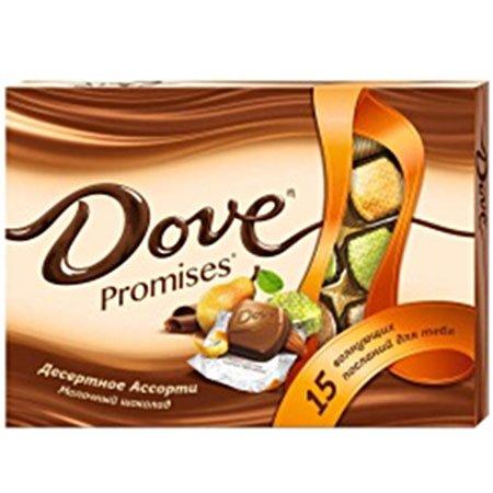Конфеты Dove Promises десерт ассорти 118г