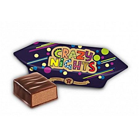 Конфеты Crazy Nidhts шоколадно-молочный, 1кг